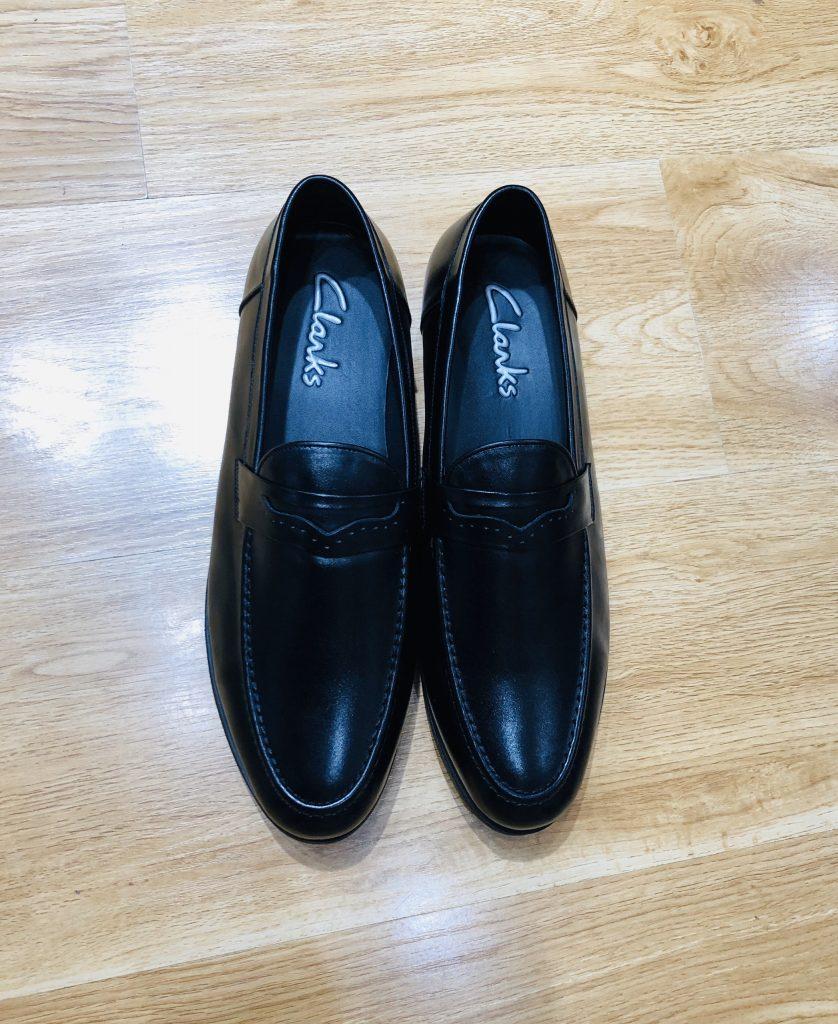 giày lười ngoại cỡvn074làm bằng da bò