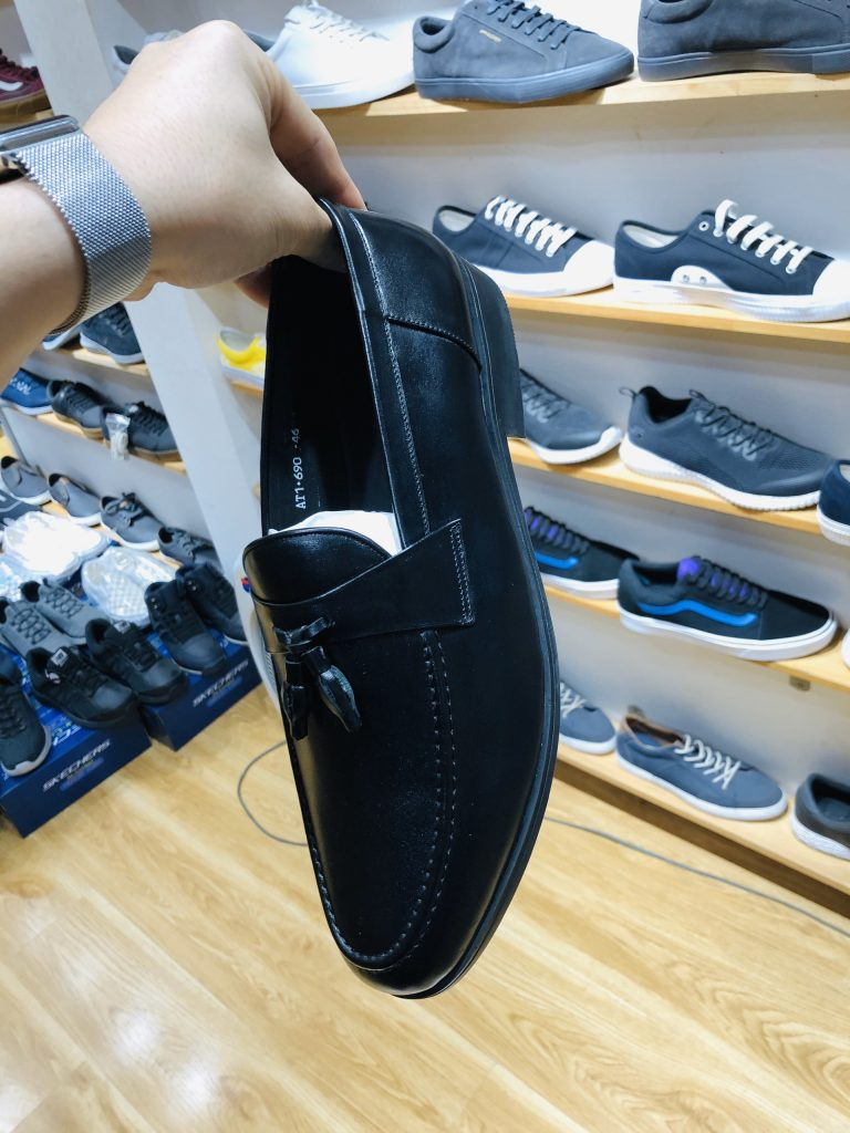 Giày lười ngoại cỡ vn073 1 - Giày Bền