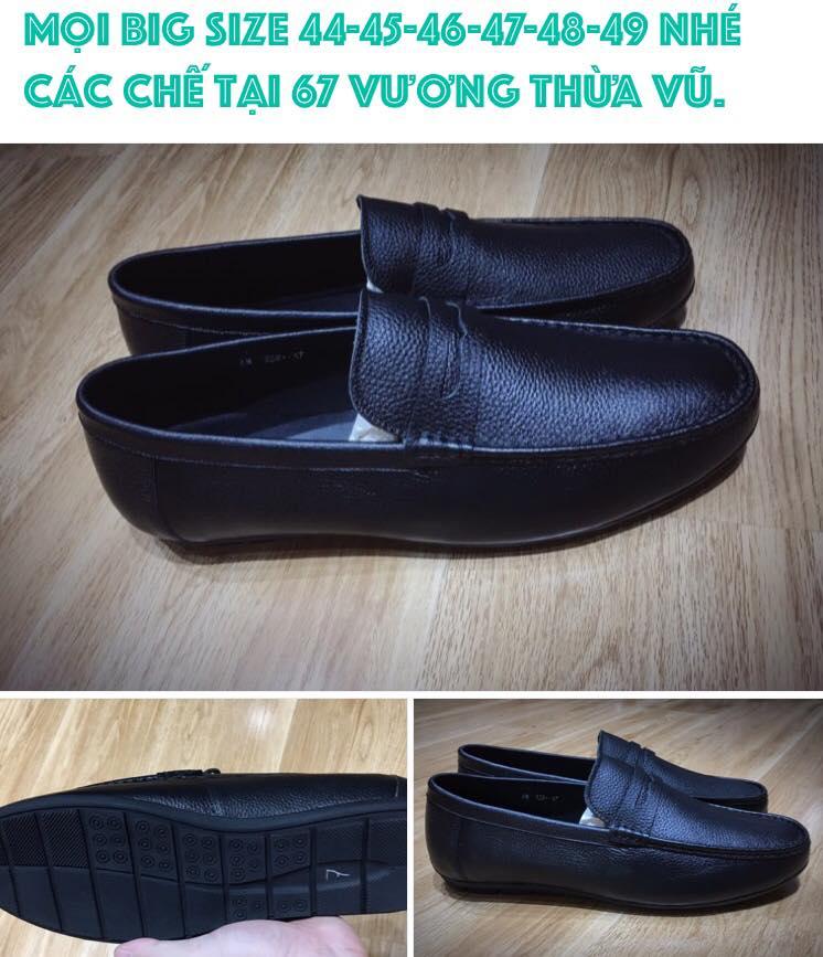 Giày nam ngoại cỡ - Thế giới giày nam big size 8 - Giày Bền