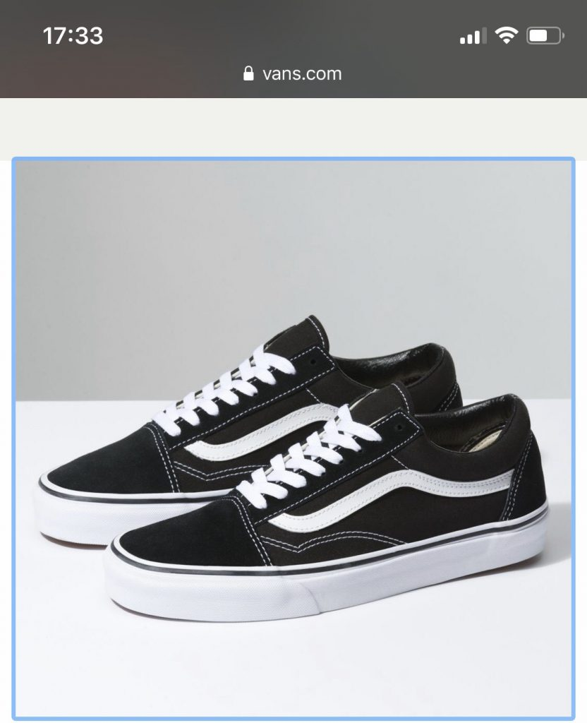 Vans old skool black 1 - Giày Bền