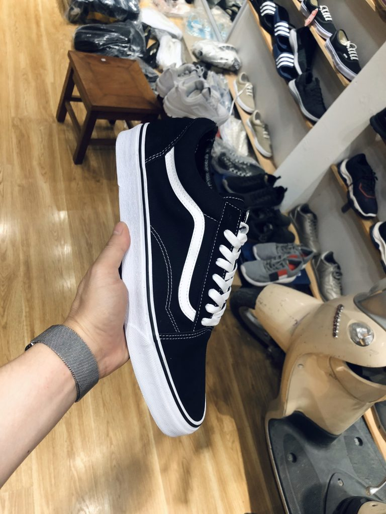 Vans old skool black 3 - Giày Bền