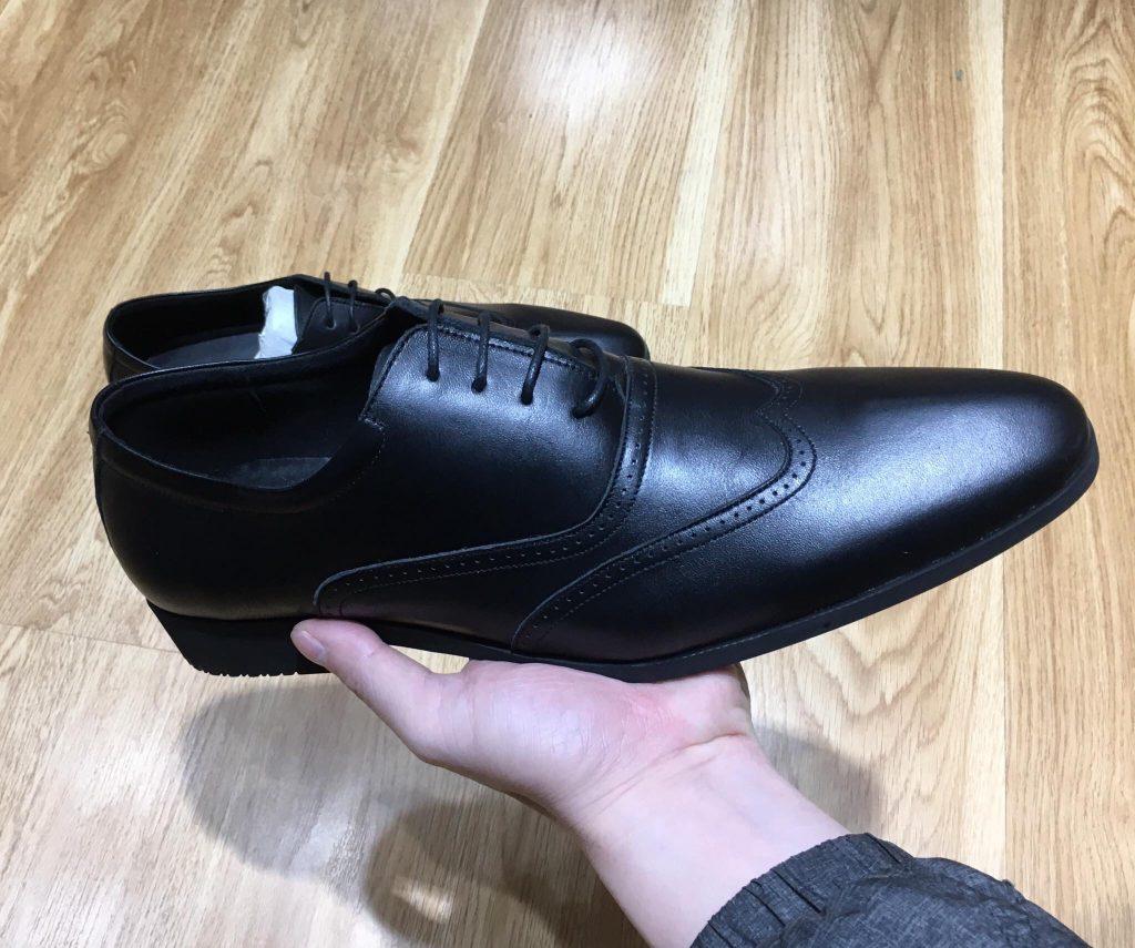 Giày da ngoại cỡ vn075 1 - Giày Bền