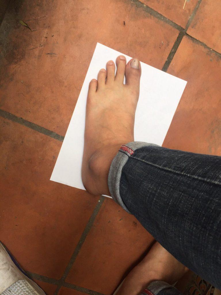 Quy đổi cỡ giày